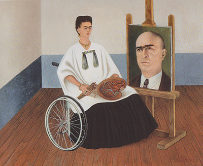 Self-Portrait with the Portrait of Doctor Farill Frida Kahlo
